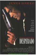 DESPERADO & ONCE UPON A TIME IN MEXICO MOVIE POSTER Both Original One Sheets !!