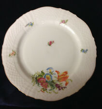 ASTON WESTWOOD BAVARIA QUEEN'S BOUQUETS QUEEN SOPHIA CHARLOTTE SALAD PLATE 7 5/8
