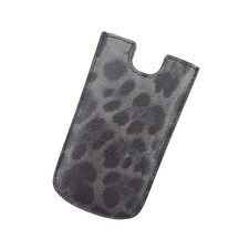 Auth Dolce & Gabbana iPhone Case Leopard unisexused L357