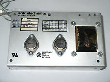 ACDC Electronics 12D1 Power Supply, +/-12V@1A, Used