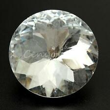 10PCS Sparkly 30mm Large Rhinestone Diamond Crystal Charm Upholstery Sew Buttons