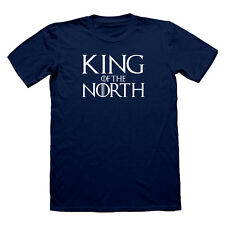 KING OF THE NORTH STARK WINTER IS HERE T SHIRT GAME OF THRONES TEE  LANISTER