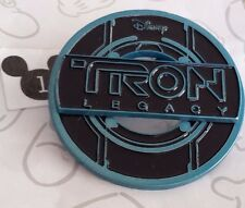 Disney Tron Legacy Logo Black and Blue Identity Disk Pin Buy 2 Save $