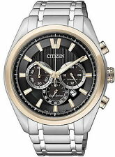 Citizen Eco-Drive Mens Super Titanium Chronograph with Sapphire Glass CA4014-57E