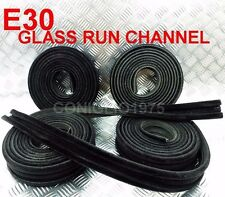 2 PAIRS GLASS RUN CHANNEL SEAL FIT FOR 4 DOORS MODEL BMW E30 SERIES