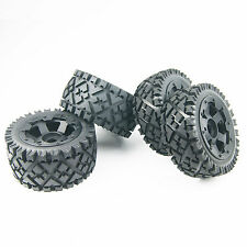 Front and Rear All terrain tyre wheel rim For Kingmotor Rovan HPI Baja 5B SS