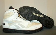 "Vintage 1990's? Reebok ""Turf Rat"" Football Shoes Size 15 White/Black EUC Fast S"