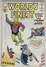 World's Finest #116 March 1961 VG/FN Creature From Beyond