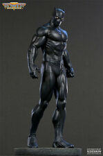 SKETCHED & Signed By BOWEN BLACK PANTHER Classic MUSEUM STATUE AVENGERS Sideshow