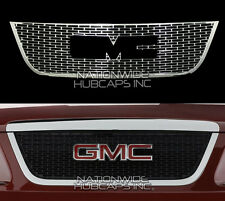 07-12 GMC Acadia CHROME Snap On Grille Overlay Insert Front Trim FREE SHIPPING
