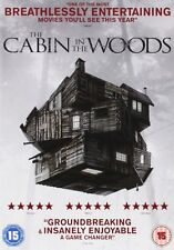 THE CABIN IN THE WOODS      NEW SEALED GENUINE UK DVD