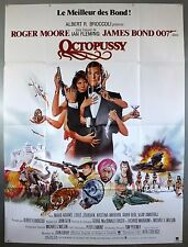 OCTOPUSSY - JAMES BOND / ROGER MOORE - ORIGINAL FRENCH GRANDE MOVIE POSTER