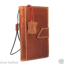 genuine leather Case for Samsung Galaxy Note edge book wallet handmade cover IL