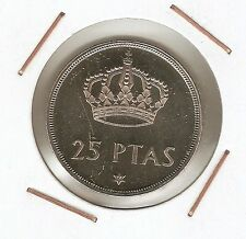25 Pesetas 1975 (76) Proof ( procedente de cartera )