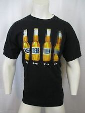 5 P.M. TO 2 A.M. BLUR VISION BEER GRAPHIC CREW NECK T-SHIRT SIZE LARGE VIC-THOR1