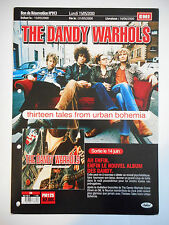▓ PLAN MEDIA ▓ THE DANDY WARHOLS : THIRTEEN TALES FROM URBAN BOHEMIA