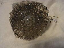 Staff Chrom Bubble Glas Lampe Leuchte 70er Mid Century 1/6 #