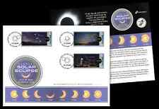 2015 Isle of Man Solar Eclipse Special Cover (SN96)