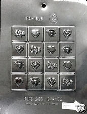 Valentine's Break-Up Bar Lollipop Chocolate Plastic Candy Soap Mold CK 90-1625