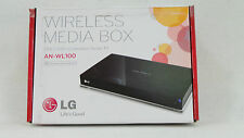 New In Box LG AN-WL100 HD Wireless Digital Media Box(27300)