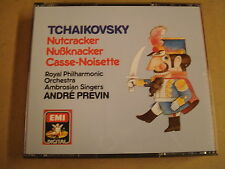 2-CD BOX EMI DIGITAL / TCHAIKOVSKY - NUTCRACKER / ANDRÉ PREVIN