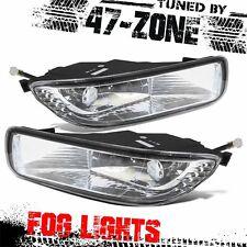 For 2003-04 Toyota Corolla Clear Lens Chrome Housing Fog Lights Pair Set