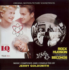 IQ / SECONDS - COMPLETE SCORE - LIMITED 3000 - OOP - JERRY GOLDSMITH