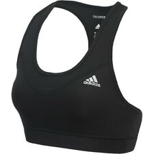 Adidas AJ2172 Womens Tech Fit Climacool Racerback Black Sports Bra Large