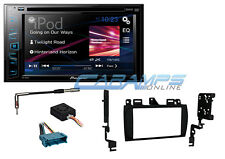 "NEW 6.2"" PIONEER STEREO RADIO & USB INPUT & CD/DVD PLAYER WITH INSTALLATION KIT"
