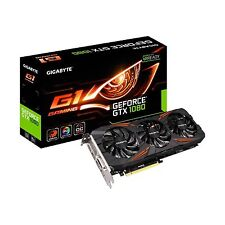 Gigabyte nVidia GeForce GTX 1080 G1 Gaming OC 8GB GDDR5X Graphics Card HDMI DP