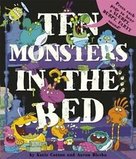 Ten Monsters In A Bed Sound Book, Katie Cotton, New