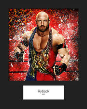 RYBACK #1 (WWE) Signed (Reprint) 10x8 Mounted Photo Print - FREE DEL