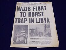 1942 JUNE 2 NEW YORK DAILY NEWS - NAZIS FIGHT TO BURST TRAP IN LIBYA - NP 1931