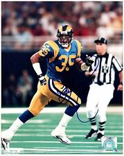 "St. Louis Rams KEITH LYLE Signed Autographed 8x10 ""Greatest Show on Turf"" B"