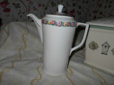 Antique Bavarian Porcelain Cocoa Pot~ Tall Chocolate or Tea Pot Server~Victorian