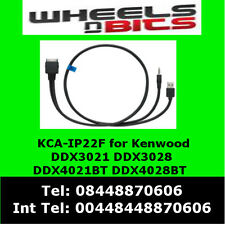 KCA-ip22f iPod/iPhone for Kenwood DDX4021BT DDX4028BT for music & Video playback