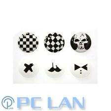 6 PCS Black and White A Home Button Sticker for iPhone New iPad 1 2 3 4
