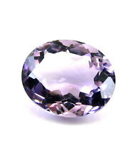 Certified 4.28Ct Natural Amethyst (Katella) Oval Cut Faceted Gemstone