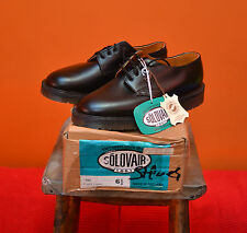 Deadstock Rare Size 6.5 SOLOVAIR (Dr Martens) 1462 Goodyear welted Black Leather