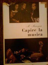 MATTEO MARANGONI - CAPIRE LA MUSICA , GARZANTI 1953 PRIMA EDIZIONE