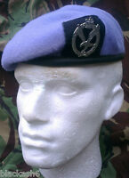 Army Air Corps Beret and Cap Badge Size 56 Officer Quality