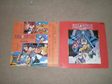 FINAL FANTASY 2 Laserdisc JAPAN Anime with Insert