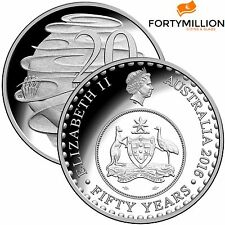 AUSTRALIA: 2016 20 CENTS PROOF OLD Coat of Arms ENCAPSULATED THE CHANGEOVER