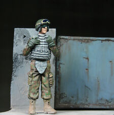 1/35 Scale resin model kit US tank crew with IOTV - military model kit