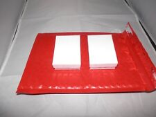 30 New Red Poly Bubble Mailers,6x9 Bubble Padded Mailing Shipping Envelopes