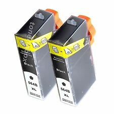 2pk  564XL Ink Cartridge For HP Photosmart 6510 6520 7510 7520 SHOW INK LEVEL