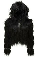 Killstar Faux Fur Glampire Jacket Gothic Witch Pentagram Dolls Kill