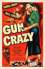 "Gun Crazy Movie Poster Replica 13 x 19"" Photo Print"