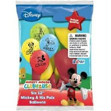 Mickey Minnie Mouse latex balloons Donald Goofy party