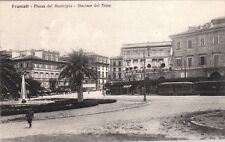 # FRASCATI: PIAZZA DEL MUNICIPIO - STAZIONE TRAM